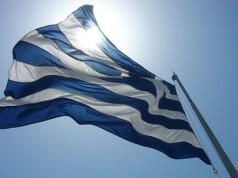 The Greek Flag by guffy