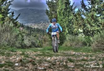 Biking on Lefkas Mountain