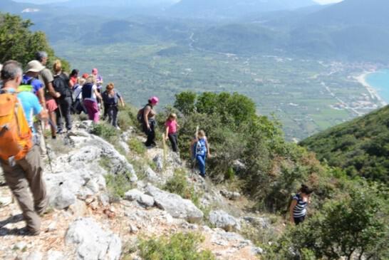 Μαζί με τον ΕΟΣ Πρέβεζας στη νότια Λευκάδα