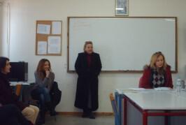 Οι Καθηγητές του ΕΠΑΛ Λευκάδας κάθισαν στα θρανία!