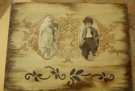 Παλαίωση, stencils, χαρτόνια chipboards & άλλα στο σεμινάριο του Χειρο_ποιείν