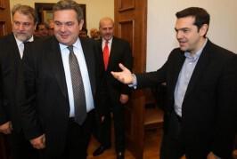Κυβέρνηση με τον Καμμένο συγκροτεί ο Τσίπρας
