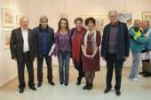 Εγκαίνια της Έκθεσης Ζωγραφικής της Ρούλας Χαρίση-Γουρζή και της Παρθενίας Μπαζίνα