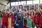 Πρωταθλητές των παιδικών πρωταθλημάτων Ε.Σ.Κ.Α.Β.Δ.Ε η Δόξα & η Νίκη Λευκάδος