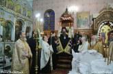 Πανηγυρικός Αρχιερατικός Εσπερινός στον Ιερό Ναό της Ευαγγελιστρίας Περιγιαλίου