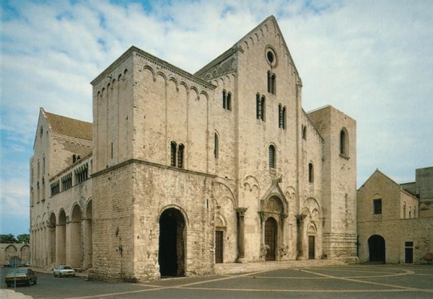 Kαθεδρικός ναός Αγίου Νικολάου στο Μπάρι.
